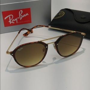 Ray-Ban Round Tortoise Shell Sunglasses